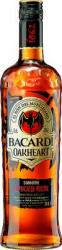 Bacardi Oak Heart Spiced Rum label unavailable