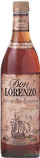 Don Lorenzo Dark Reserve Rum label unavailable