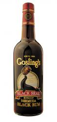 Gosling's Black Seal Rum label unavailable