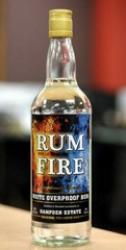 Rum Fire White Overproof Rum label unavailable
