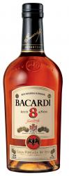 Bacardi 8 label unavailable