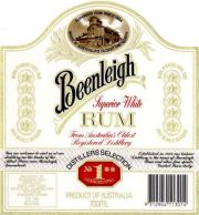 Beenleigh White Rum label unavailable