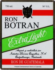 Botran - Ron Botran Extra Light label unavailable