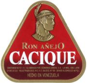 Cacique Ron Añejo label unavailable