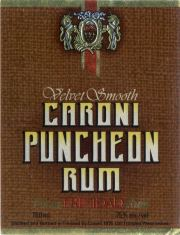 Caroni Puncheon Rum label unavailable