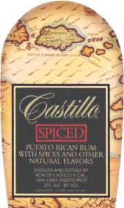 Castillo Spiced Rum label unavailable
