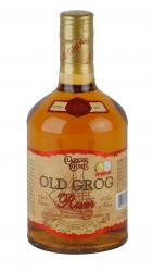 Clarke's Court Old Grog Rum label unavailable
