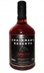 Chairman's Reserve Spiced Rum label unavailable