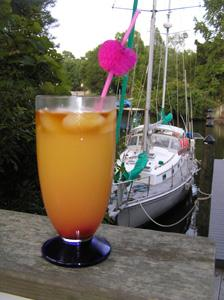 SECOND WIND sunset drink