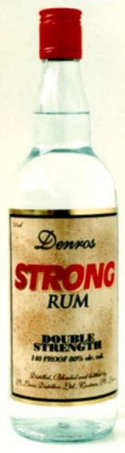 Denros Strong Rum label unavailable