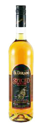 El Dorado Spiced Rum label unavailable