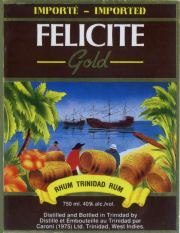 Caroni Felicite Gold label unavailable