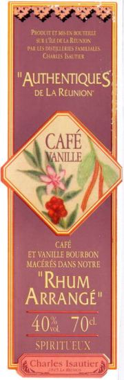 Rhum Arrangé Café -Vanille label unavailable