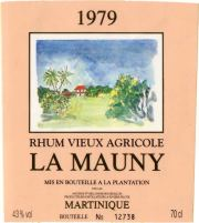 La Mauny Rhum 1979 label unavailable