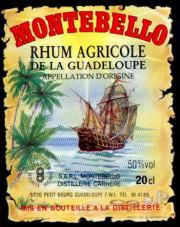 Montebello Rhum Blanc label unavailable