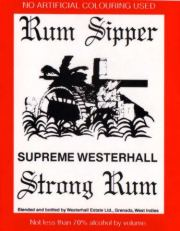 Rum Sipper label unavailable