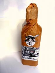 Smoke and Oakums Gunpowder Rum label unavailable